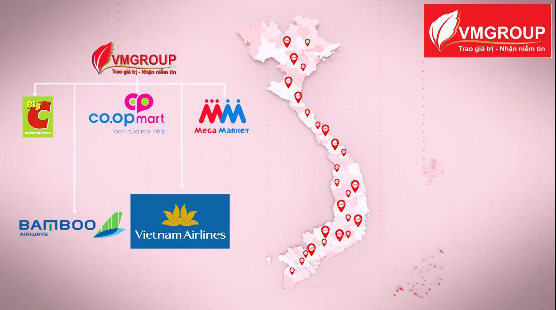 Sản phẩm của Việt My được phân phối rộng rãi khắp cả nước