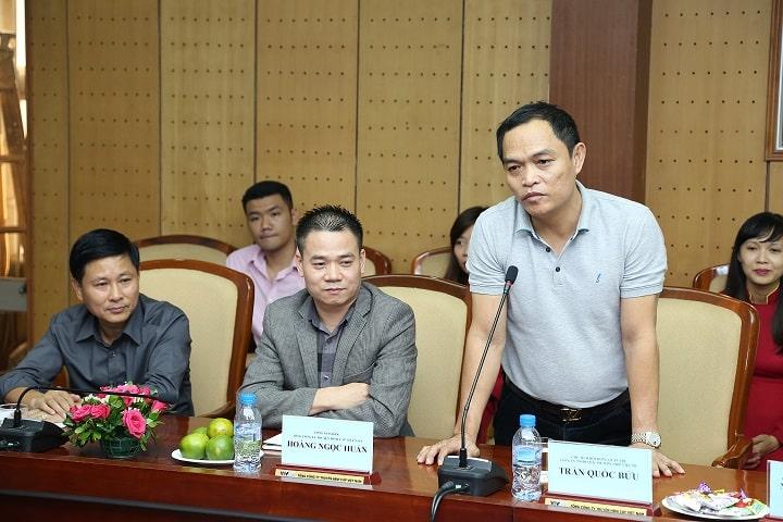 Ông Trần Quốc Bửu – Chủ tịch Hội đồng Quản trị Việt My Group cho biết sẽ tiếp tục nâng mức tài trợ lên 1000 ngôi nhà cho người dân